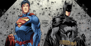 jim lee batman superman