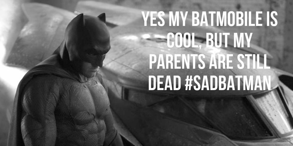 batman dead parents sad funny