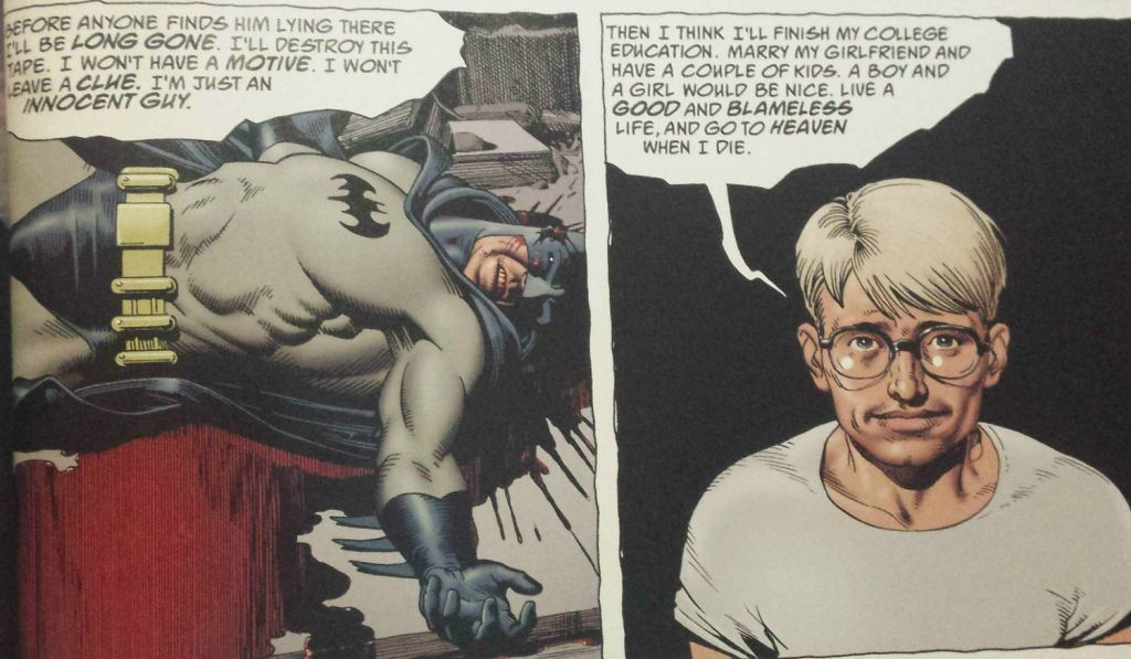 an innocent guy panel brian bolland batman the killing joke
