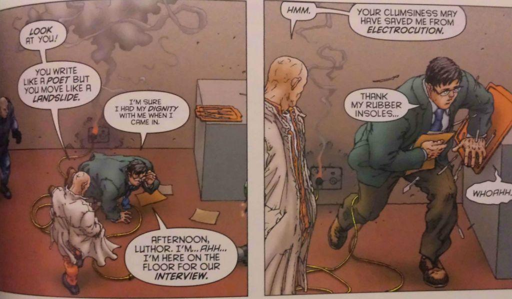 lex luthor panel