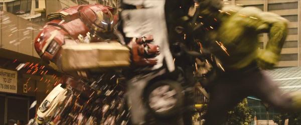 avengers age of ultron trailer hulkbuster hulk fight