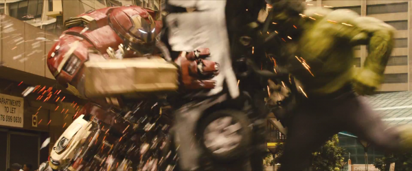 avengers age of ultron trailer hulkbuster hulk fight
