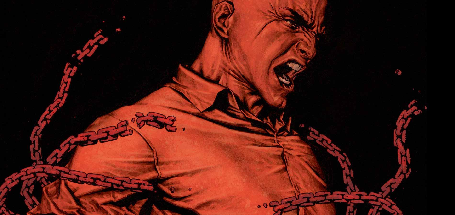 Lex Luthor Comic Face