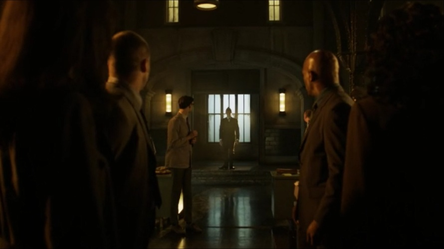 penguin entrance gotham tv show