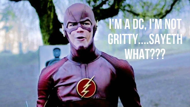 the flash tv show dc