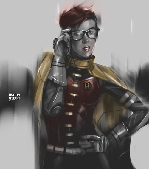 jena malone as robin fan art