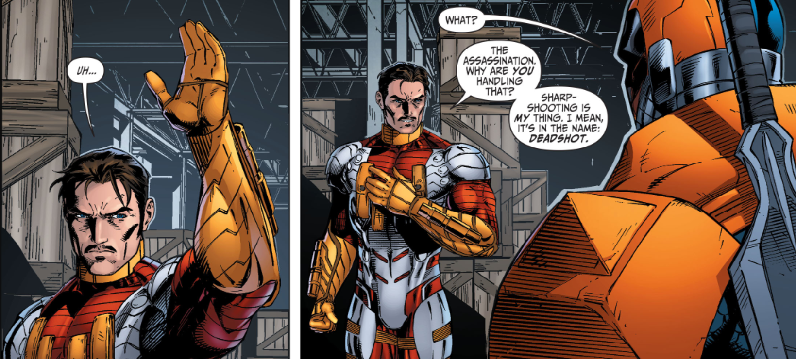 Deadshot vs The Punisher : whowouldwin