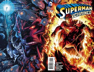 superman unchained cover