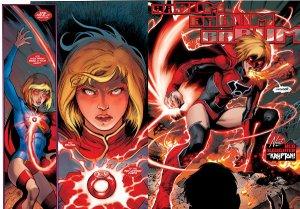 supergirl new 52 red lantern