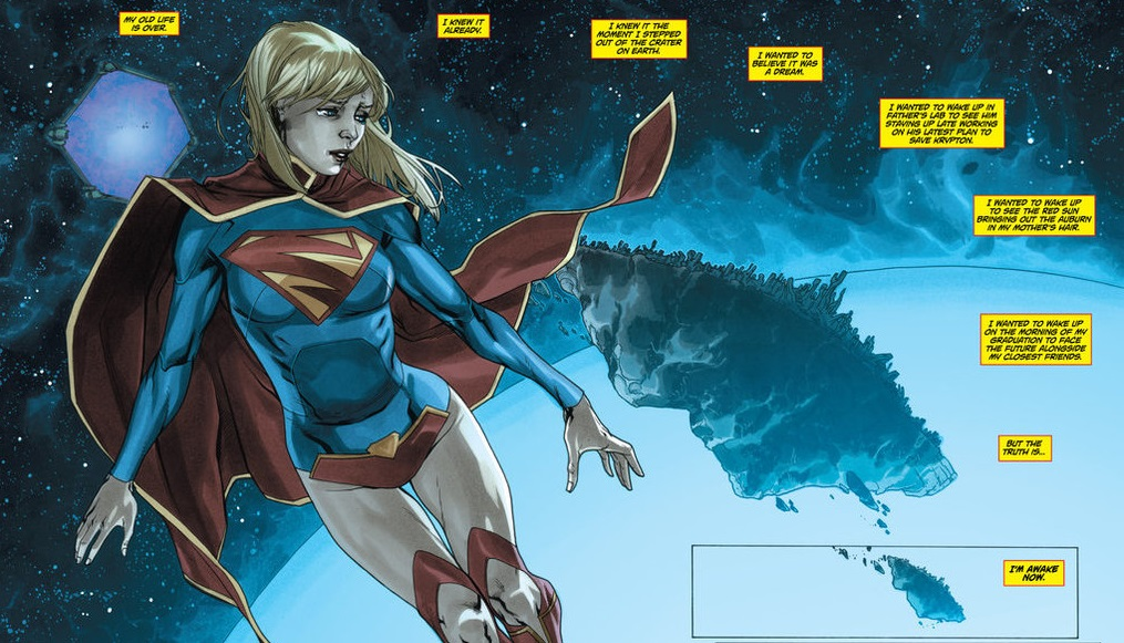 supergirl new 52 origin