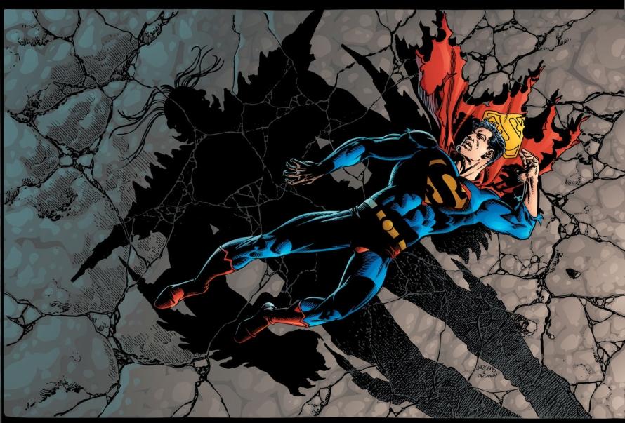 dead superman doomsday