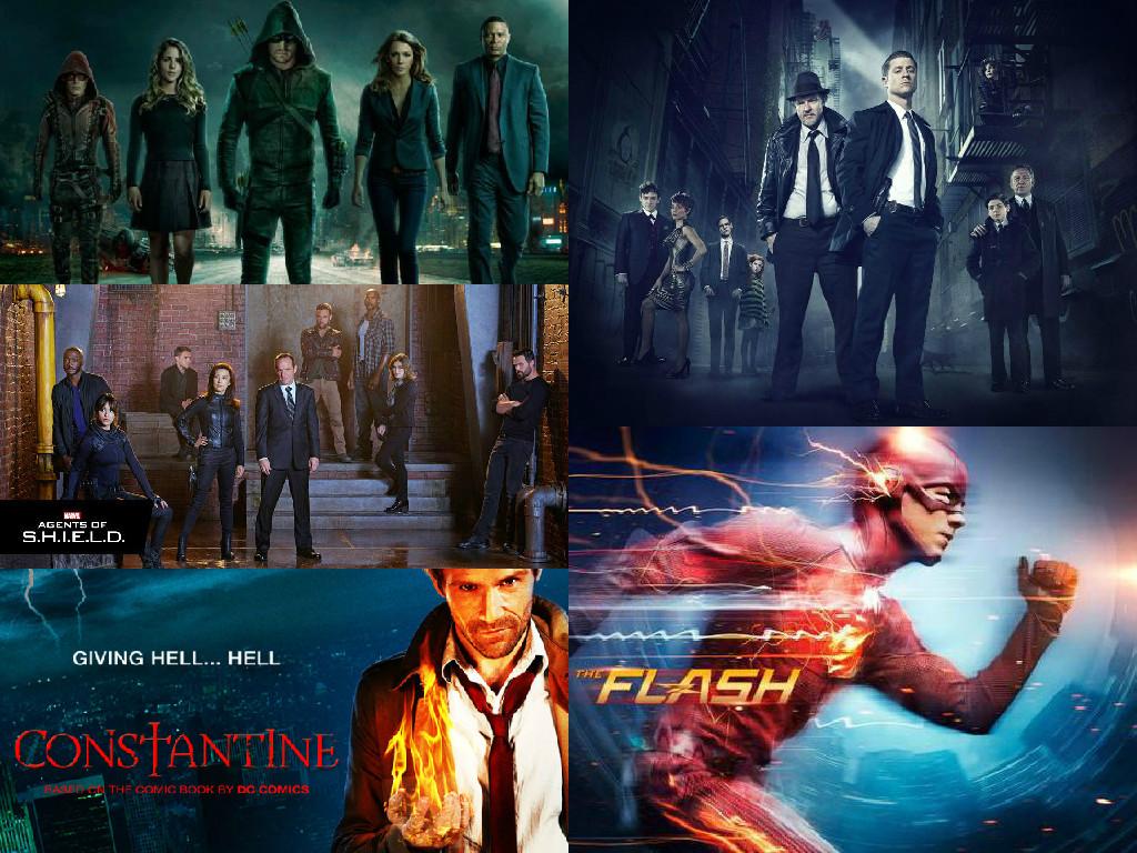 best comic book tv shows 2014