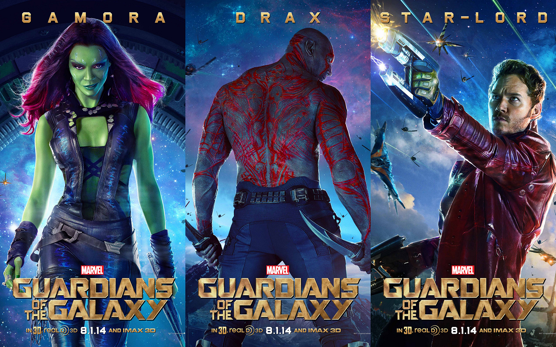 Avengers Worldwide Gross Guardians Of The Galaxy Posters