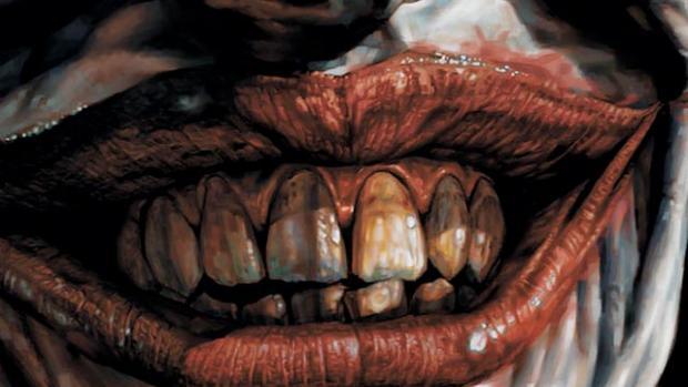 joker mouth azzarello