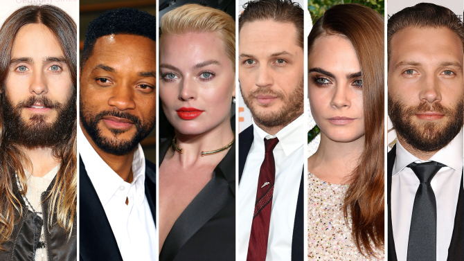 official suicide squad cast