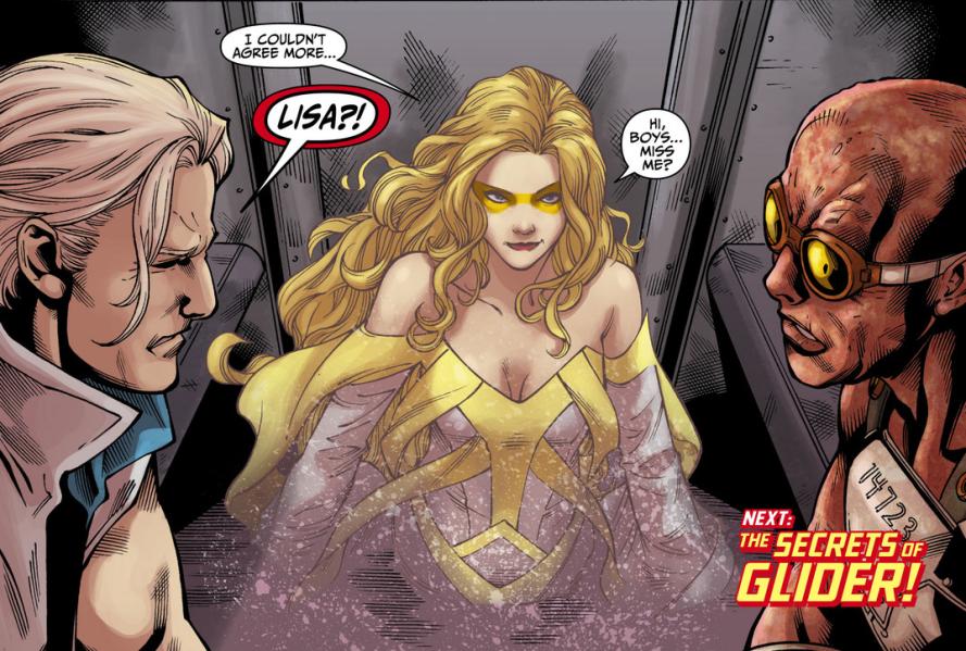 the flash episode 10 golden glider