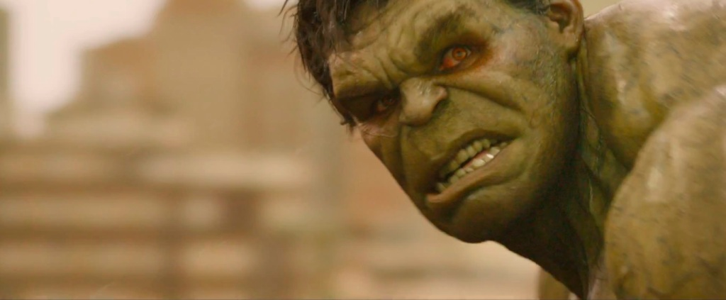 avengers age of ultron hulk red eyes