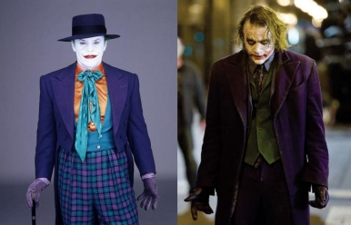 Image result for nicholson joker vs ledger