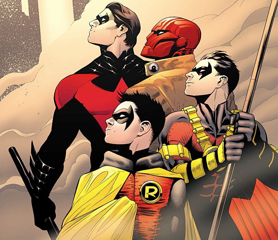 all the new 52 robins