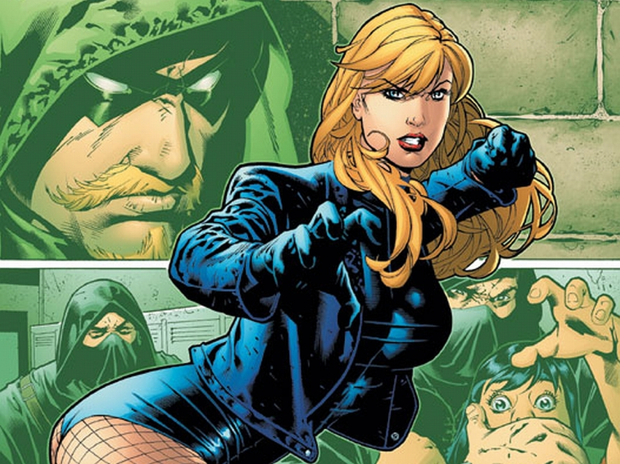 black canary comics