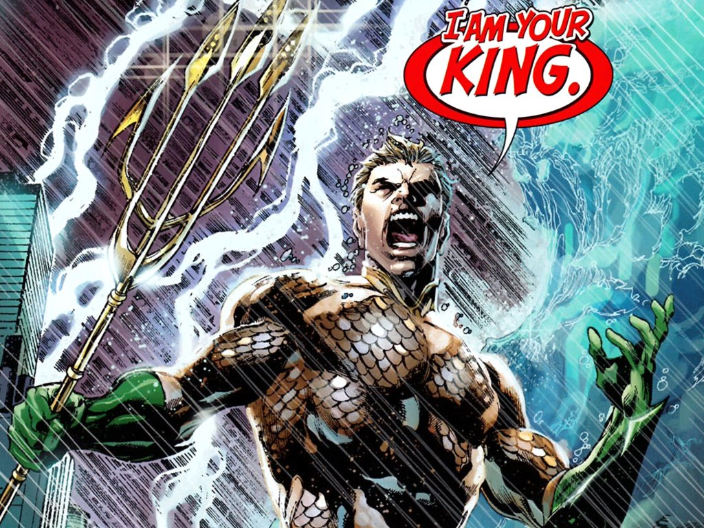 aquaman new 52 i am your king