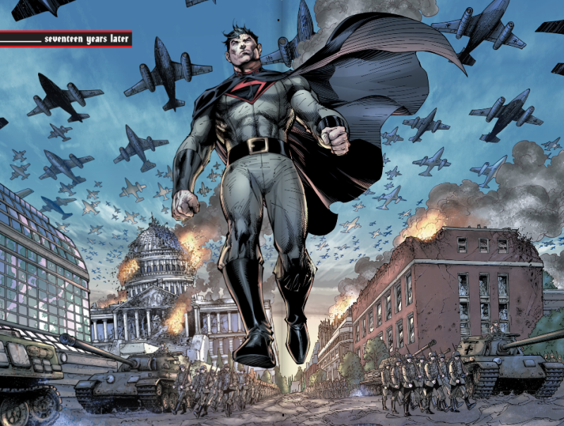 superman raised by hitler multiversity mastermen