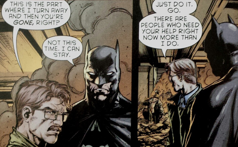 jim gordon batman friendship