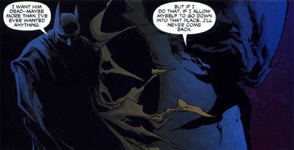 batman no killing rule