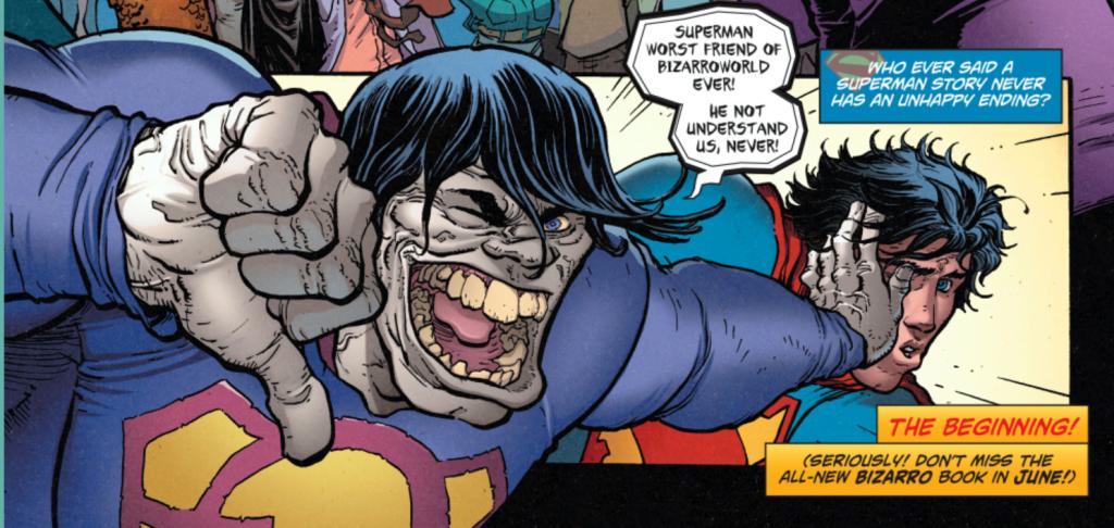 action comics #40 review bizarro superman