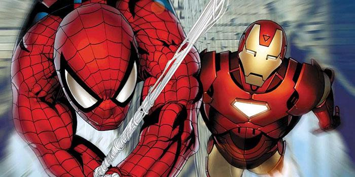 spider-man and iron man
