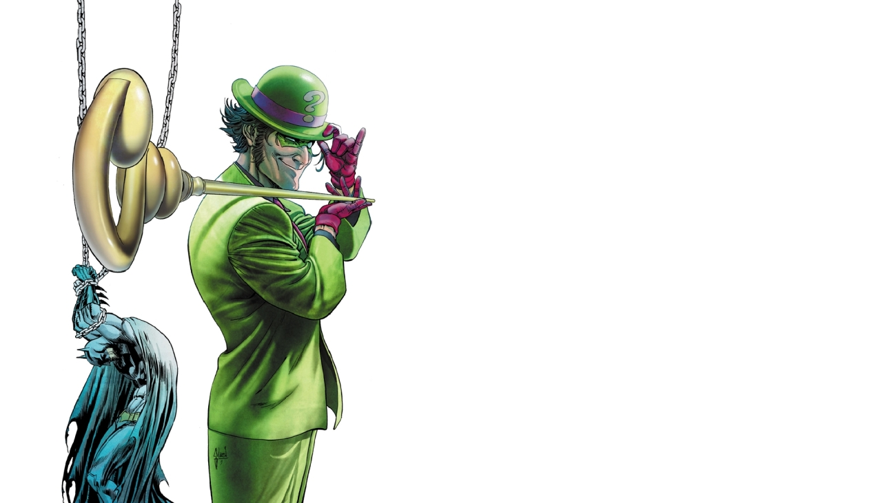 the riddler character analysis