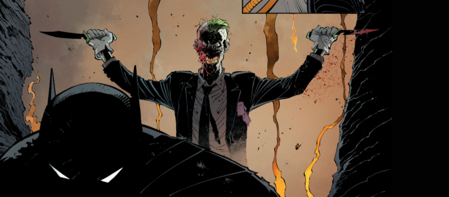 batman 40 review joker batman fight