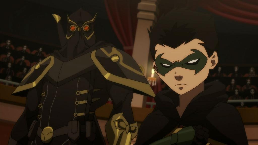 batman vs robin talon
