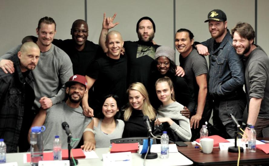 suicide squad full cast photo