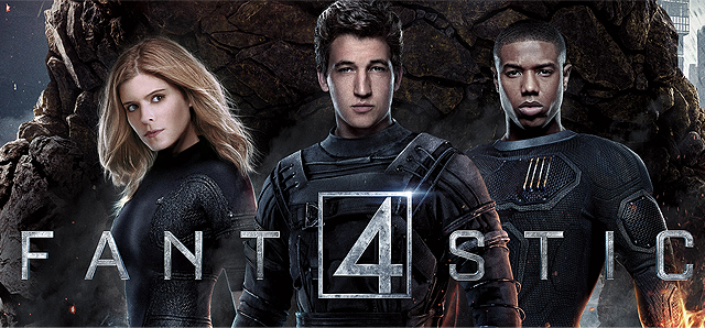 fantastic four 2015 official poster