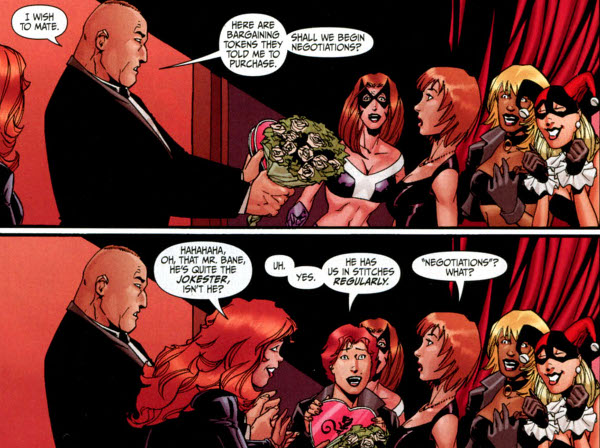 bane secret six awkward
