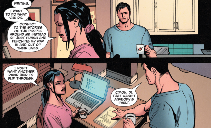 superman wonder woman 17 panel