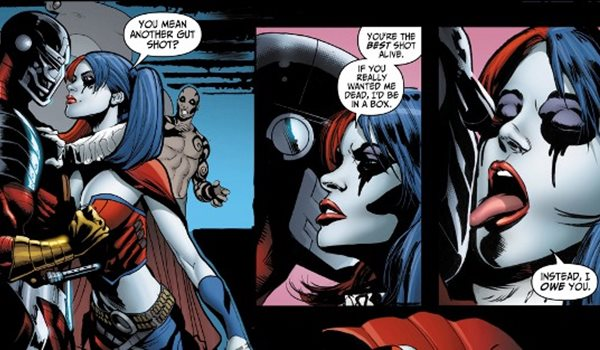 harley quinn and deadshot suicide squad