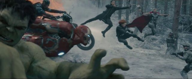 avengers age of ultron team screenshot