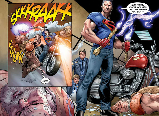 whats going on with the new superman dc comics