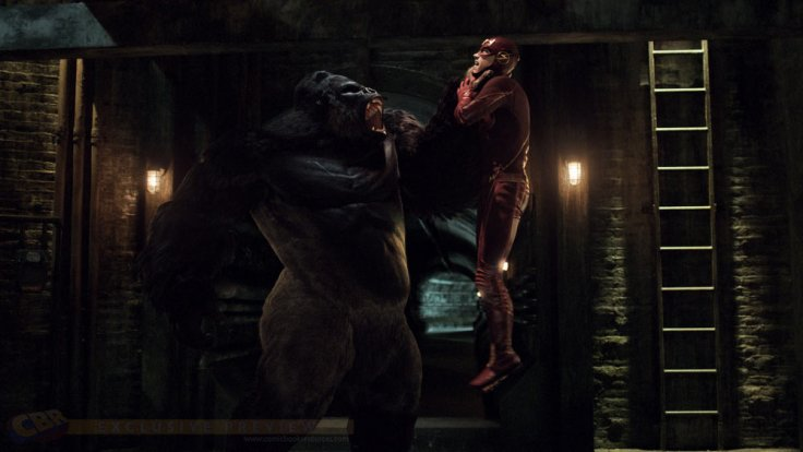the flash episode 21 grodd flash fight