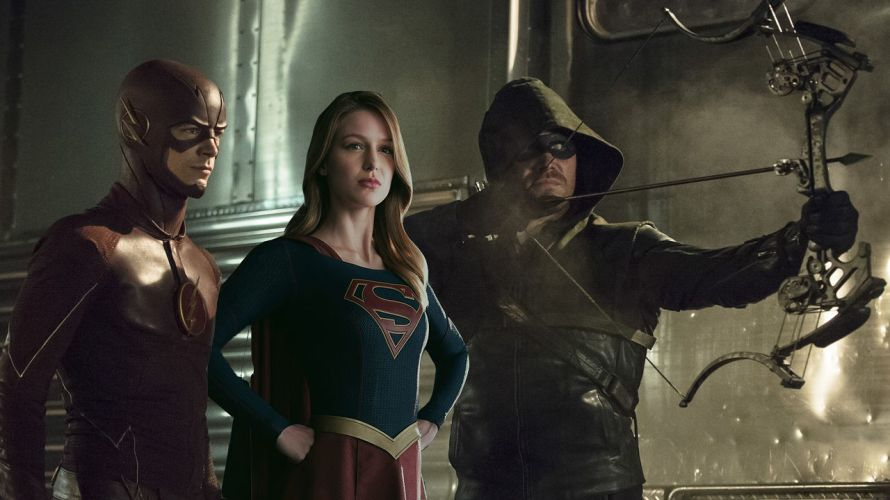 supergirl crossover arrow the flash