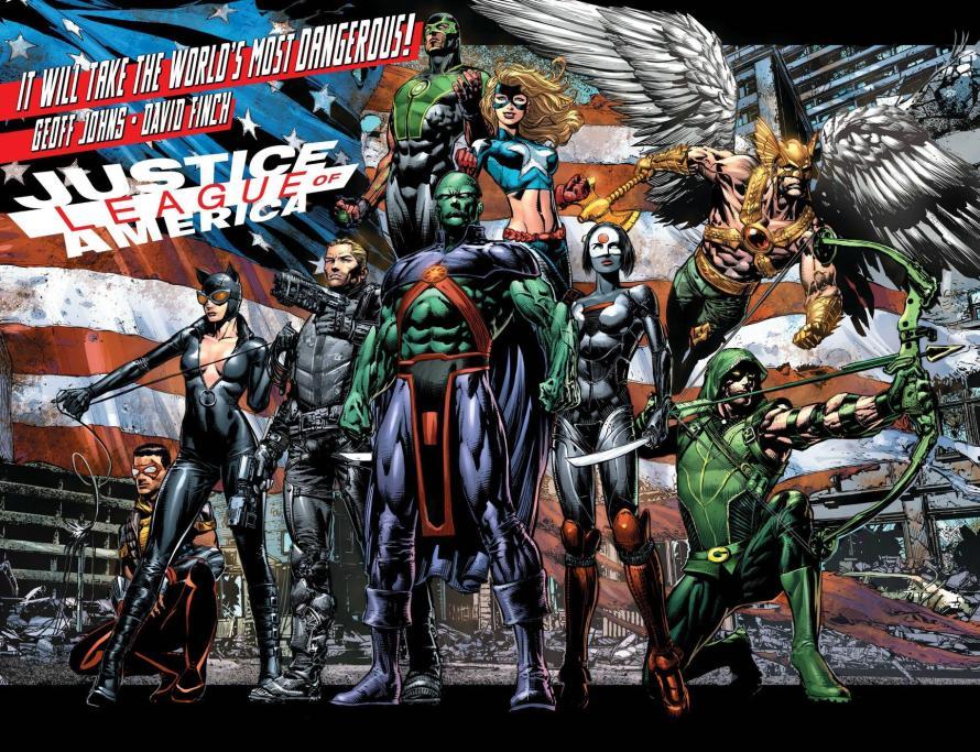 justice league of america steve trevor new 52