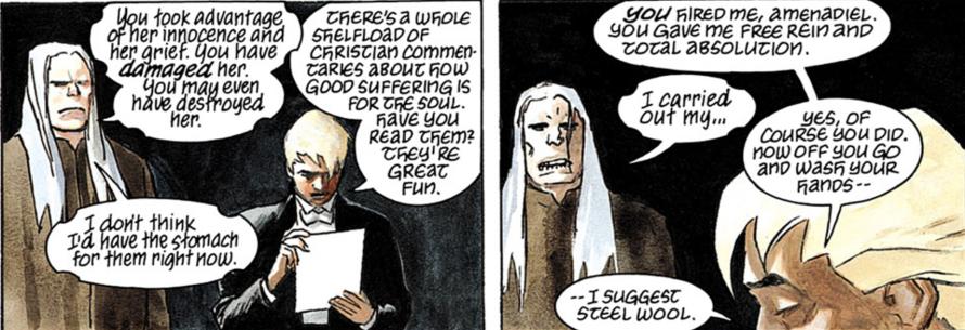 lucifer comic panel
