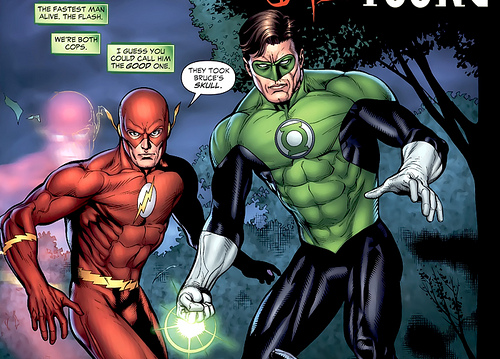 the flash green lantern friendship