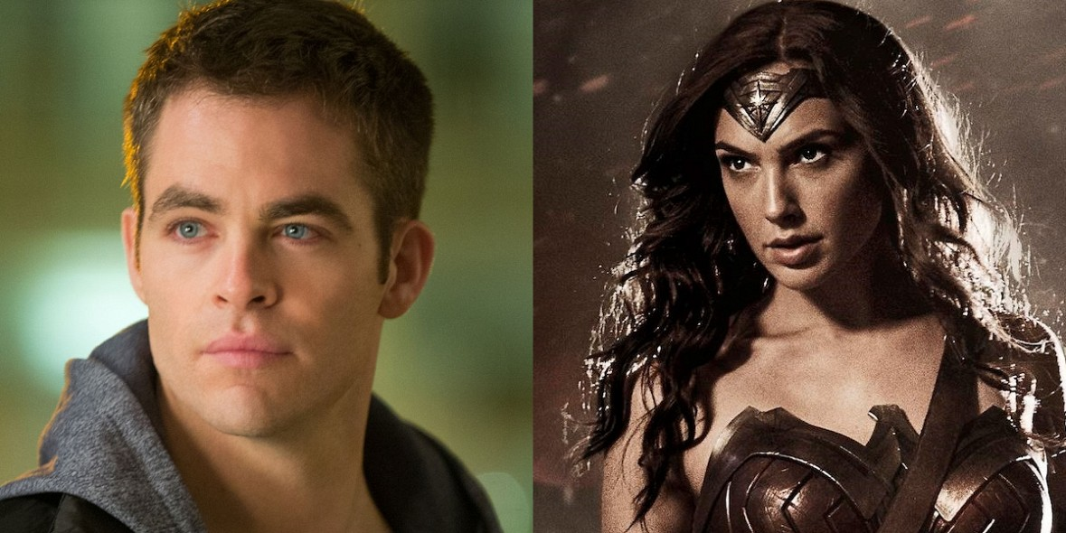 chris pine steve trevor wonder woman waste