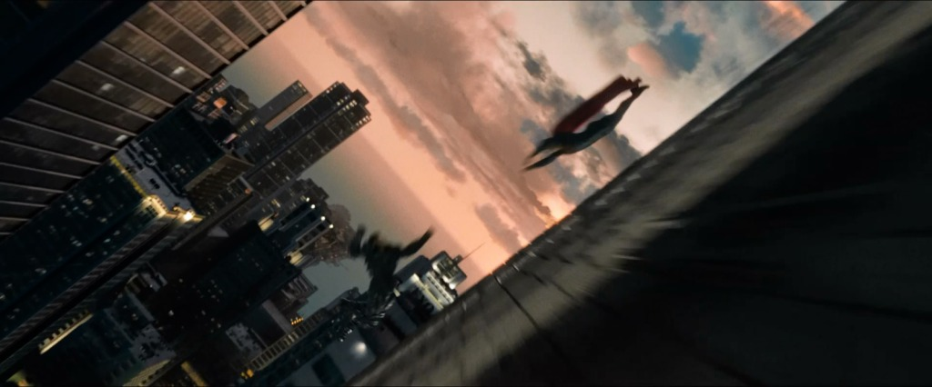 man of steel metropolis fight