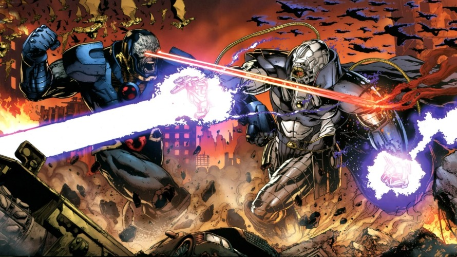 justice league 41 review darkseid war