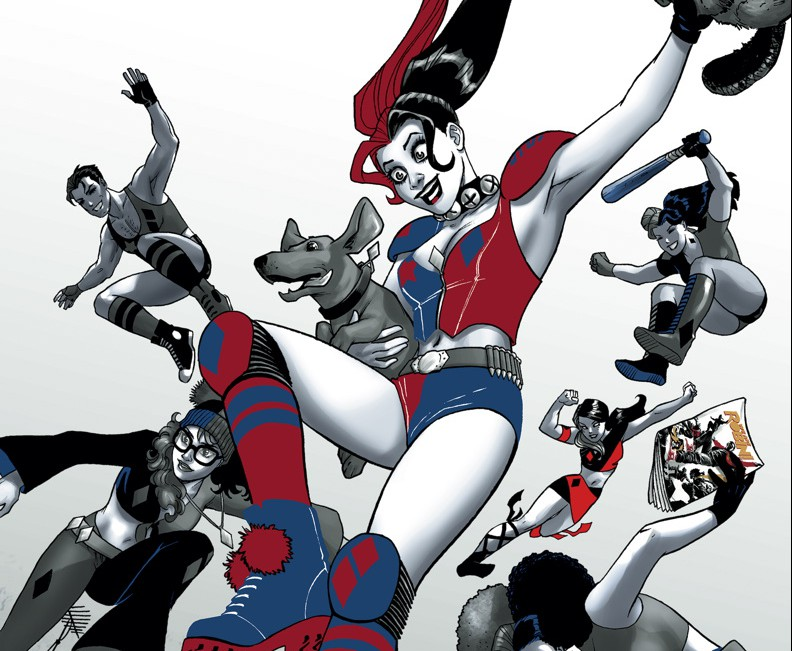 is harley quinn a superhero?
