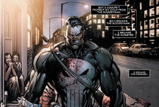 punisher on daredevil